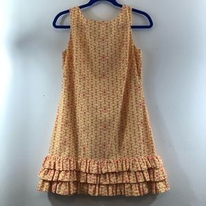 Lily Pulitzer Sleeveless Zip Back Summer Dress 4